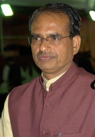 Madhya Pradesh Chief Minister Shivraj Singh Chauhan.