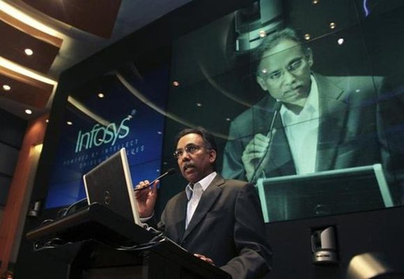 Infosys chief executive officer & managing director S D Shibulal.