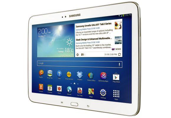 Samsung's new 10.1 Galaxy Tab 3.