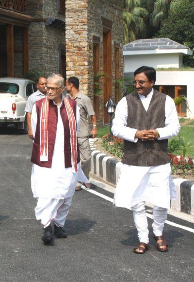 Former Chief minister of Uttarakhand Ramesh Pokhriyal Nishank.