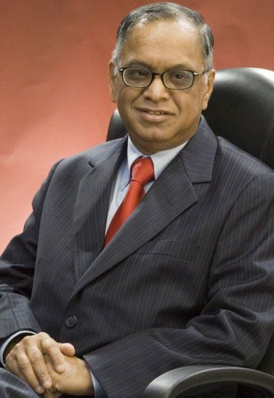 Founder of Infosys, Narayan Murthy had realised that employment alone can help rid societies from poverty