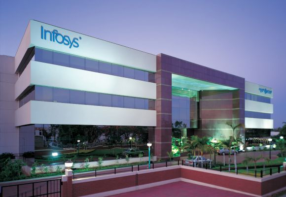 Infosys raises revenue guidance, net up at Rs 2,407 crore