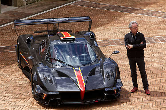 Horacio Pagani, the founder of Pagani Automobiles.