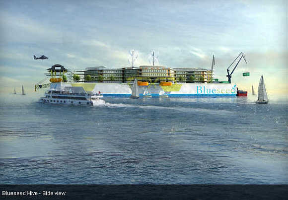 Indian startups set to sail, work and live on a floating city