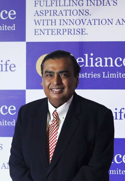 RIL chief Mukesh Ambani.