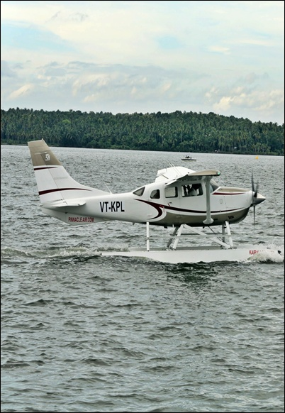 Kairali Aviation's sea plane.