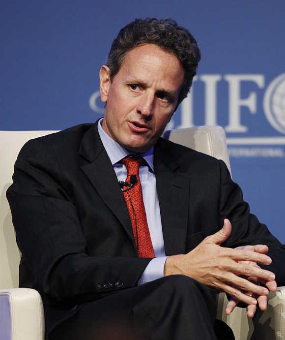 Timothy Geithner in Tokyo.