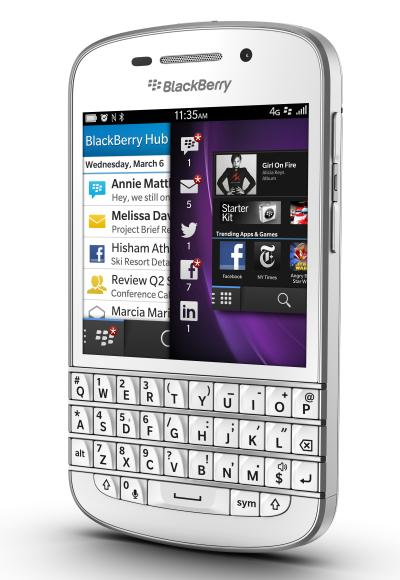 BlackBerry Q10: For those seeking smartphone with a keypad