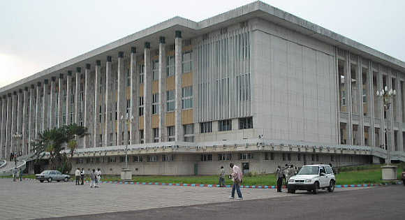 Kinshasa in Democratic Republic of Congo.