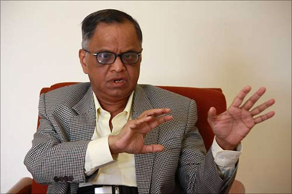 Should Narayana Murthy have come back to his 'other' family?