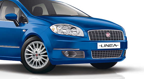IMAGES: Revamped Fiat Linea T-Jet hits Indian roads