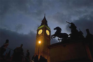 London's Big Ben. Photograph: Kieran Doherty/Reuters