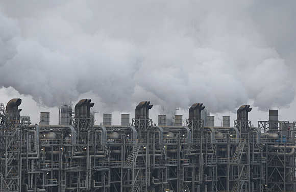 A plant of Samsung Total Petrochemicals in Seosan, about 150km south of Seoul, South Korea.