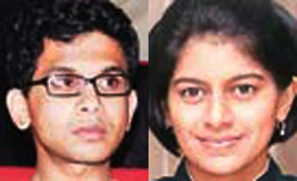 Rohan Murty and Lakshmi Venu.