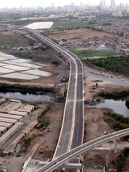 The stunning Mumbai Eastern Freeway inaugurated