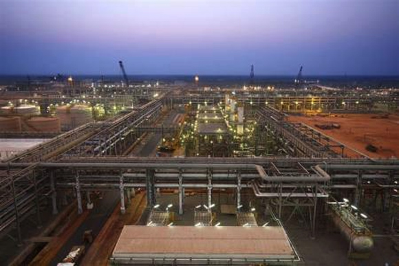 Reliance Industries' KG-D6 facility located in Andhra Pradesh