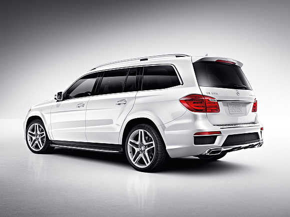 Mercedes-Benz launches GL-Class SUV at Rs 77.5 lakh