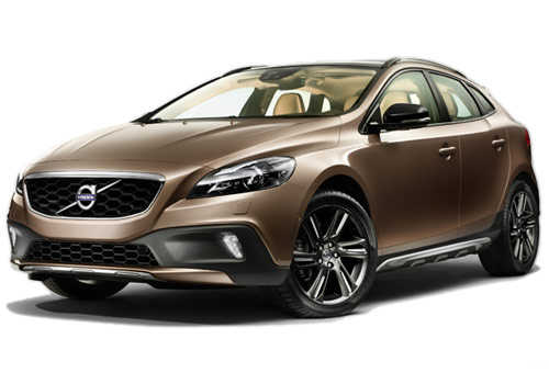 A view of V40 Cross Country luxury hatchback.
