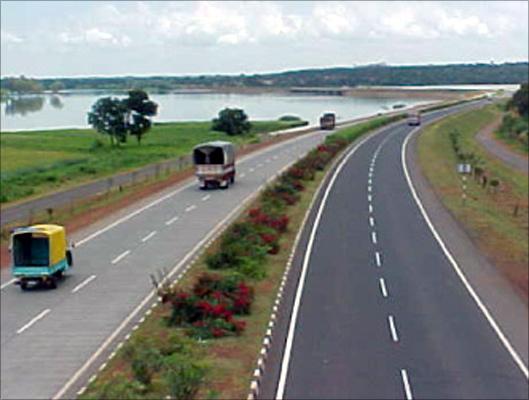 Ahmedabad-Mehsana Toll Road.