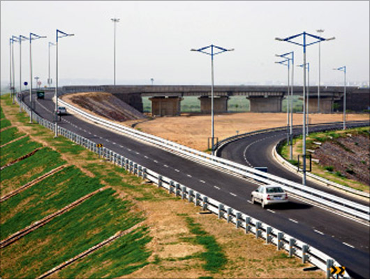 Delhi-Noida Toll Bridge.