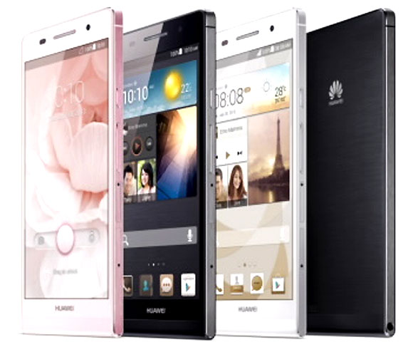 Huawei launches world's slimmest smartphone