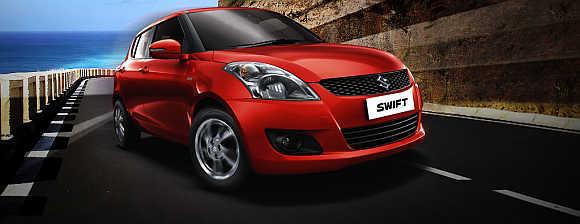Maruti Suzuki Swift.