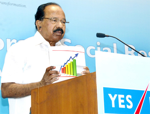 Petroleum Minister Veerappa Moily.