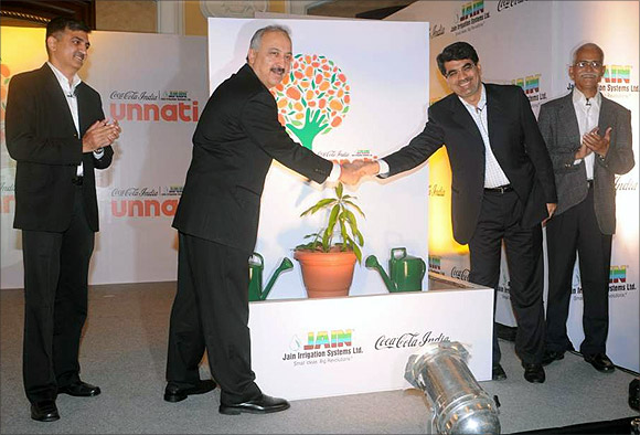 Atul Singh at a Project Unnati event.