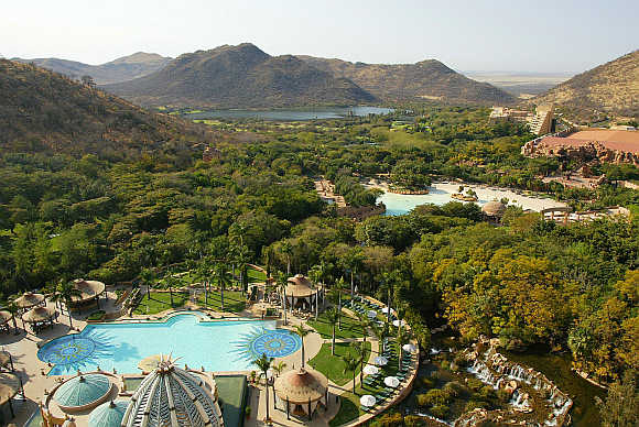 Sun City, the Las Vegas of Africa, is nestled in the hills of the Bafokeng nation, 120km north of Johannesburg.