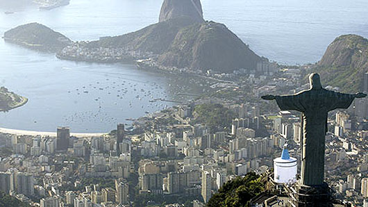 Christ the Redeemer statue in Rio.