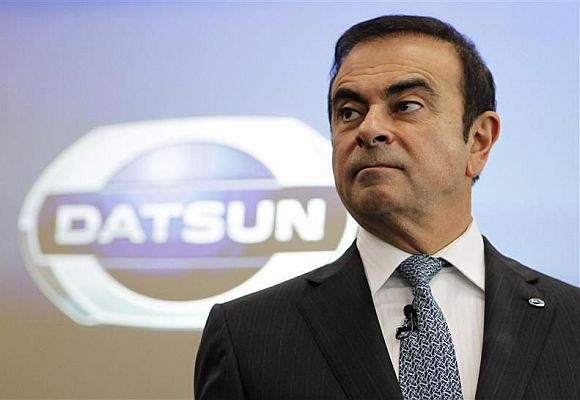Carlos Ghosn, Chairman and CEO of Nissan and Renault.