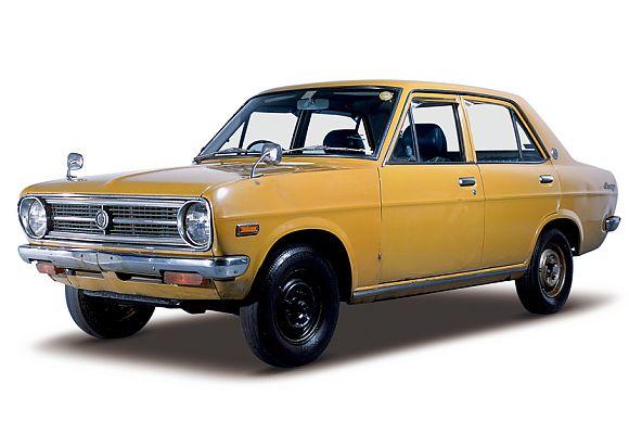 Datsun Sunny 1200 4-door Deluxe.