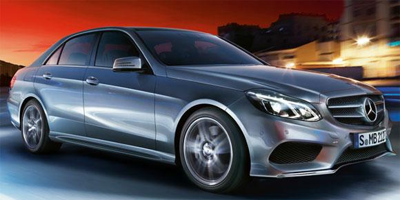 Mercedes Benz E Class.