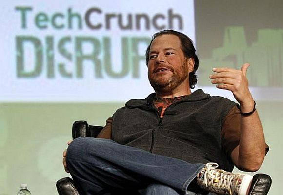 Salesforce.com Chairman and CEO Marc Benioff.