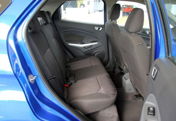 Interior of Ford EcoSport.