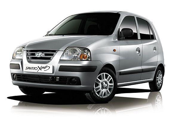 Hyundai Santro Xing.