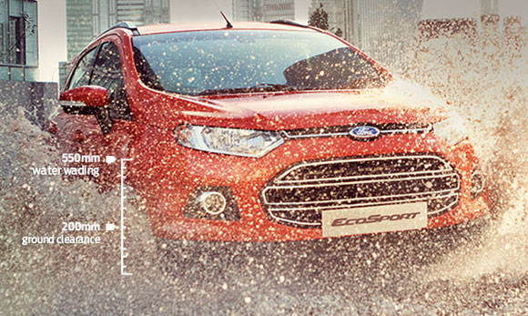 Ford Ecosport finally rolls out in India