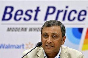 Former president of Wal-Mart India Raj Jain