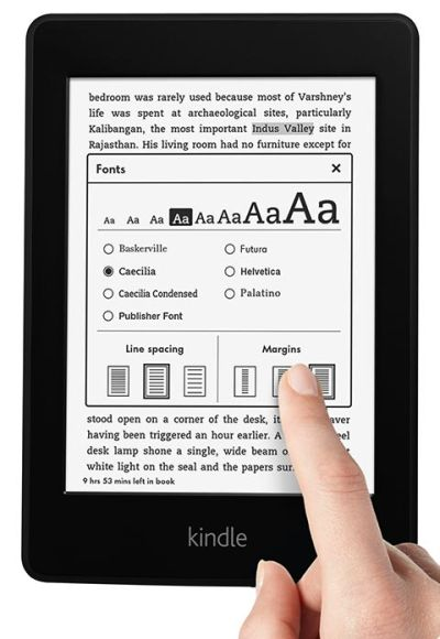 Kindle Paperwhite.