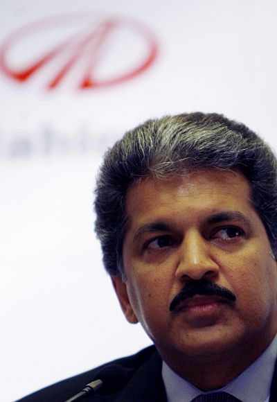 Anand Mahindra, chairman of Mahindra & Mahindra group.
