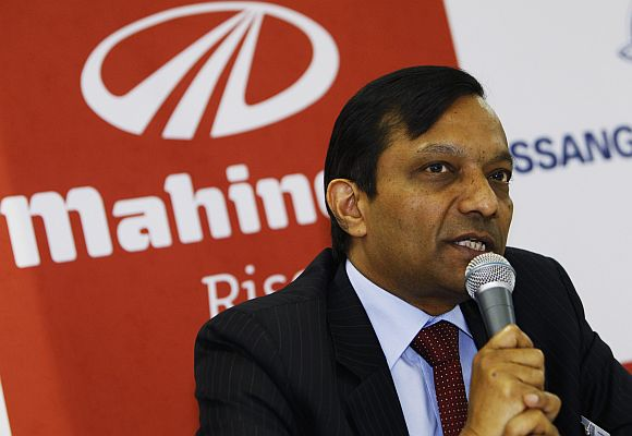 Pawan Goenka, President of the Automotive & Farm Equipment sectors at Mahindra & Mahindra.