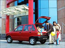 Maruti shares close down 2%