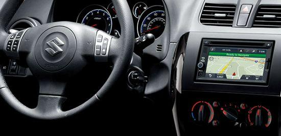 Interior of Maruti Suzuki SX4.