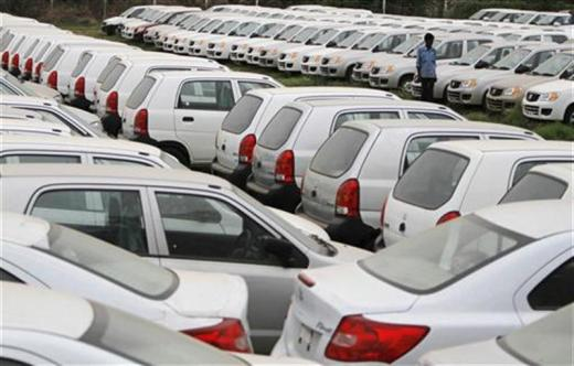 Maruti sales fall 8%