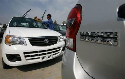Maruti's sales in March fall 5%; rise 3% in FY13