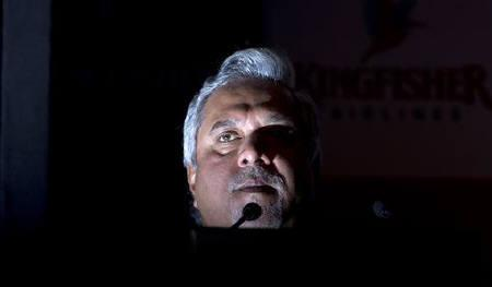 Vijay Mallya speaks to the media.
