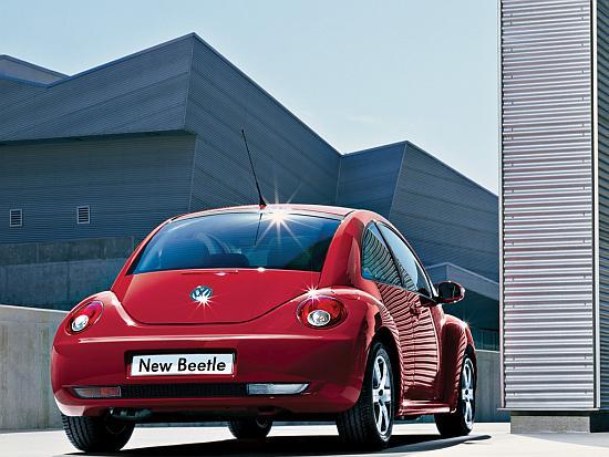 Volkswagen's New Beetle.