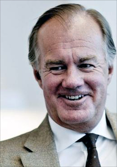 Stefan Persson, chairman of Hennes and Mauritz, is seen in Stockholm.