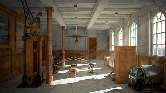 The new Titanic will also recreate the original gym.