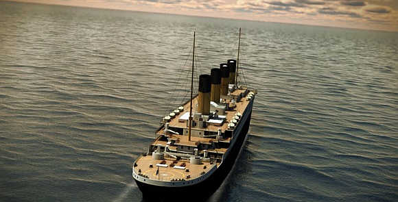 Clive Palmer announced the launch of new Titanic in April 2012.
